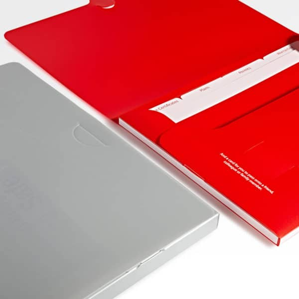 red-silver-document-presentation-wallets