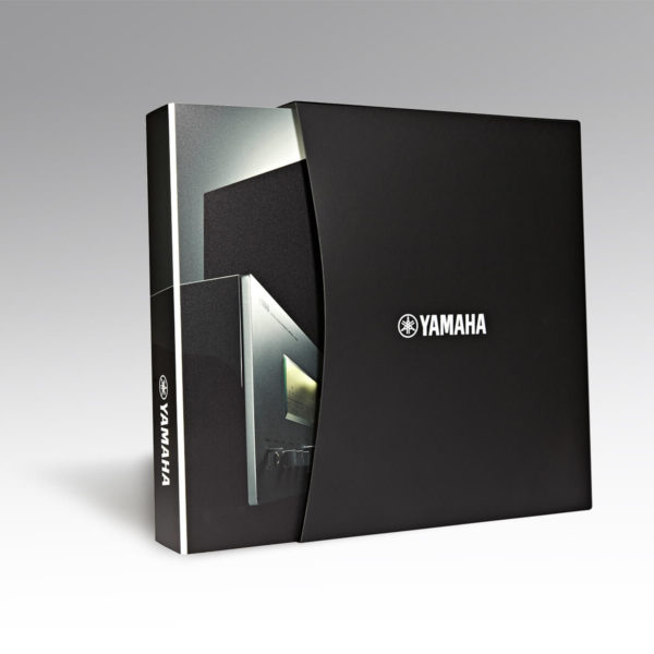yamaha ring binder and slip cases