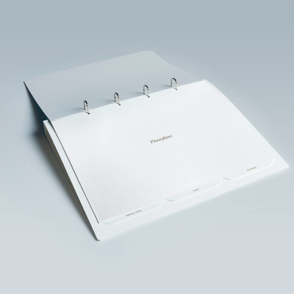 Floorplans Tabbed Divider Sets & CD Ring Binders - KodanOZ