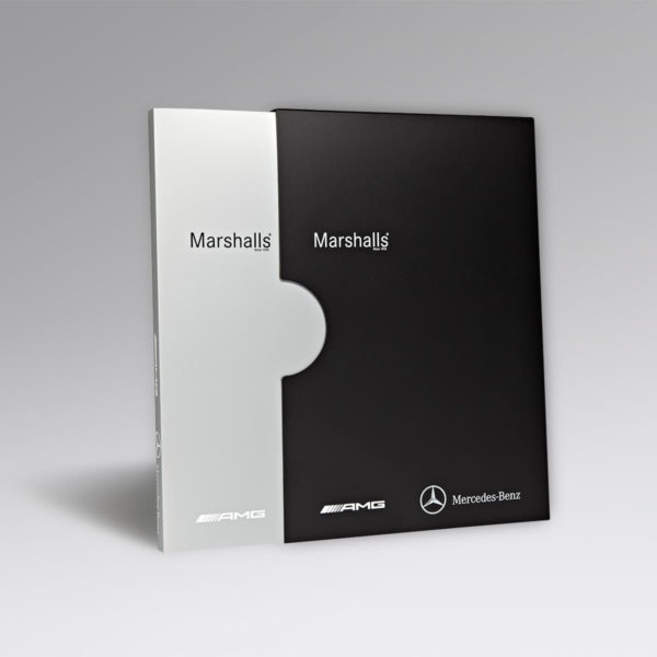marshalls ring binder and slip cases