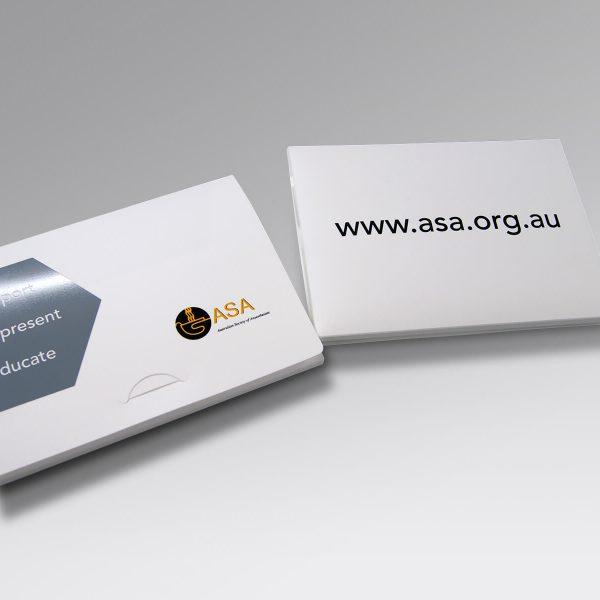 ASA Document Presentation Wallets, Printed & Plastic wallets - KodanOZ