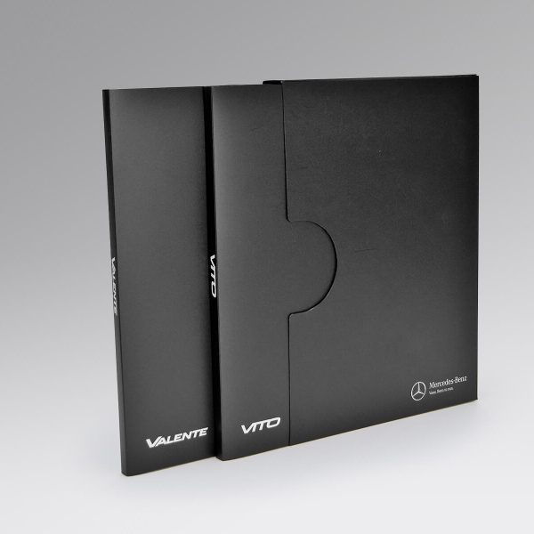 Mercedes Benz Ring Folders Plus Slip Cases - KodanOZ